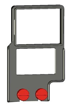 """Изображение Z-Finder 3"""" Mounting Frame for Small DSLR Bodies with Battery Grips"""